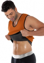 Men Sexy Fitness Sweat Neoprene Corsets
